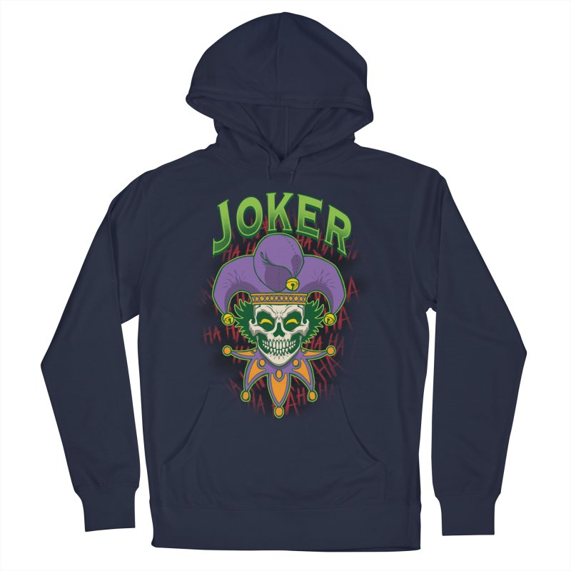 JOKER Men's Pullover Hoody by Inkdwell's Artist Shop