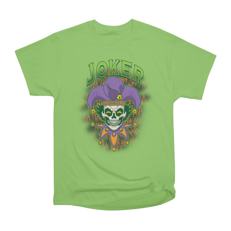 JOKER Women's Heavyweight Unisex T-Shirt by Inkdwell's Artist Shop