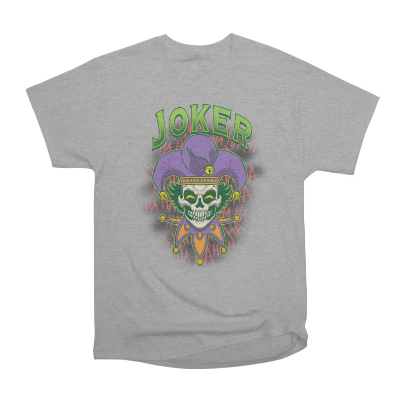 JOKER Men's Heavyweight T-Shirt by Inkdwell's Artist Shop