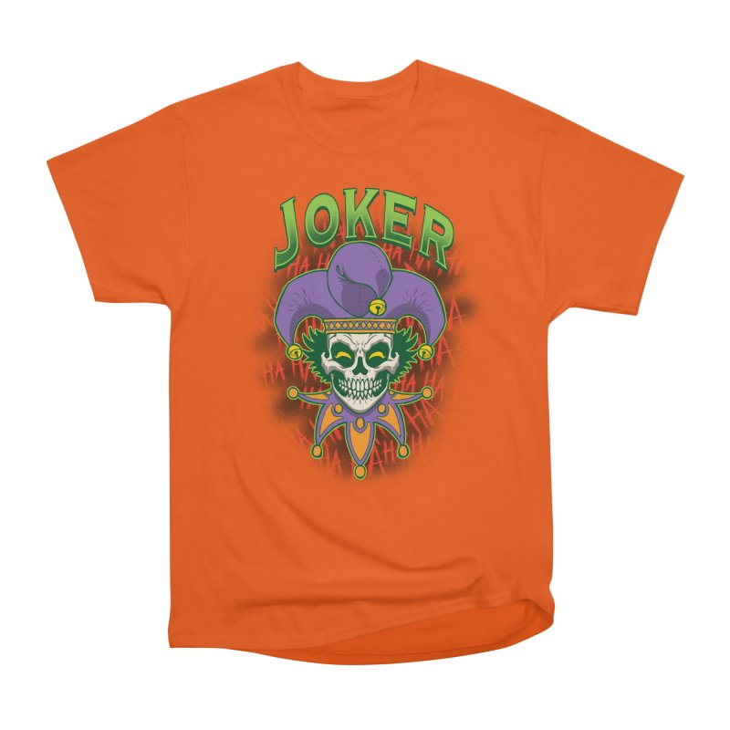 JOKER Women's Heavyweight Unisex T-Shirt by Inkdwell's Artist Shop
