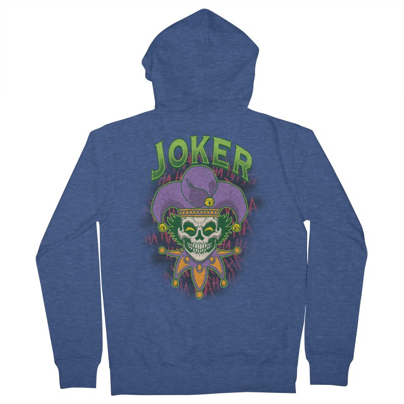 JOKER Women's Zip-Up Hoody by Inkdwell's Artist Shop