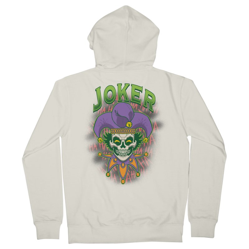 JOKER Women's Zip-Up Hoody by Inkdwell's Artist Shop