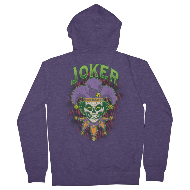 JOKER Men's Zip-Up Hoody by Inkdwell's Artist Shop