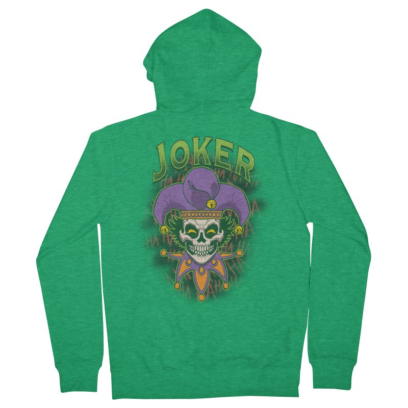 JOKER Men's Zip-Up Hoody by Inkdwell's Artist Shop