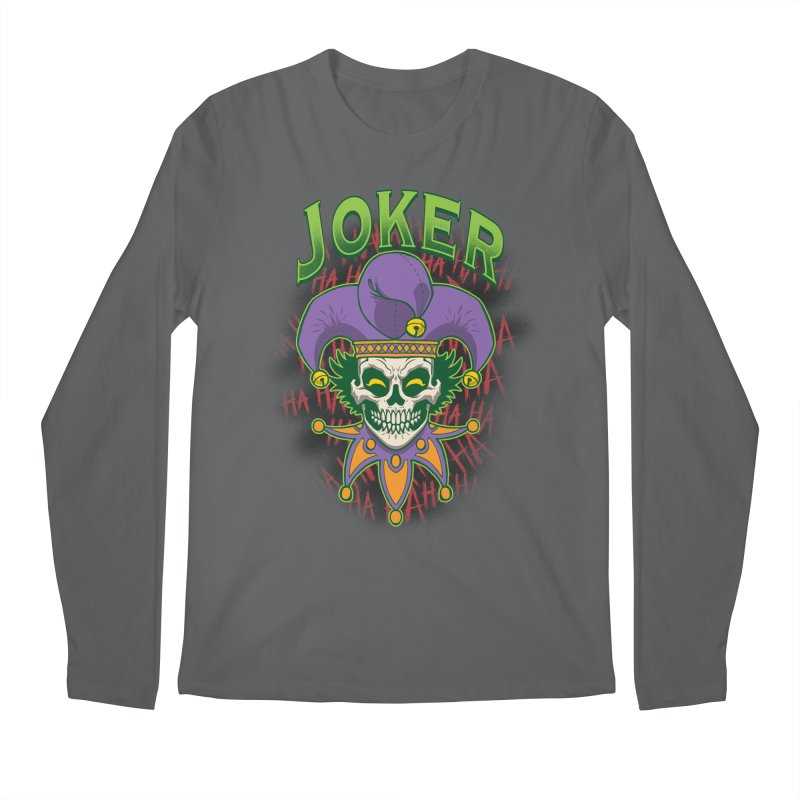 JOKER Men's Longsleeve T-Shirt by Inkdwell's Artist Shop