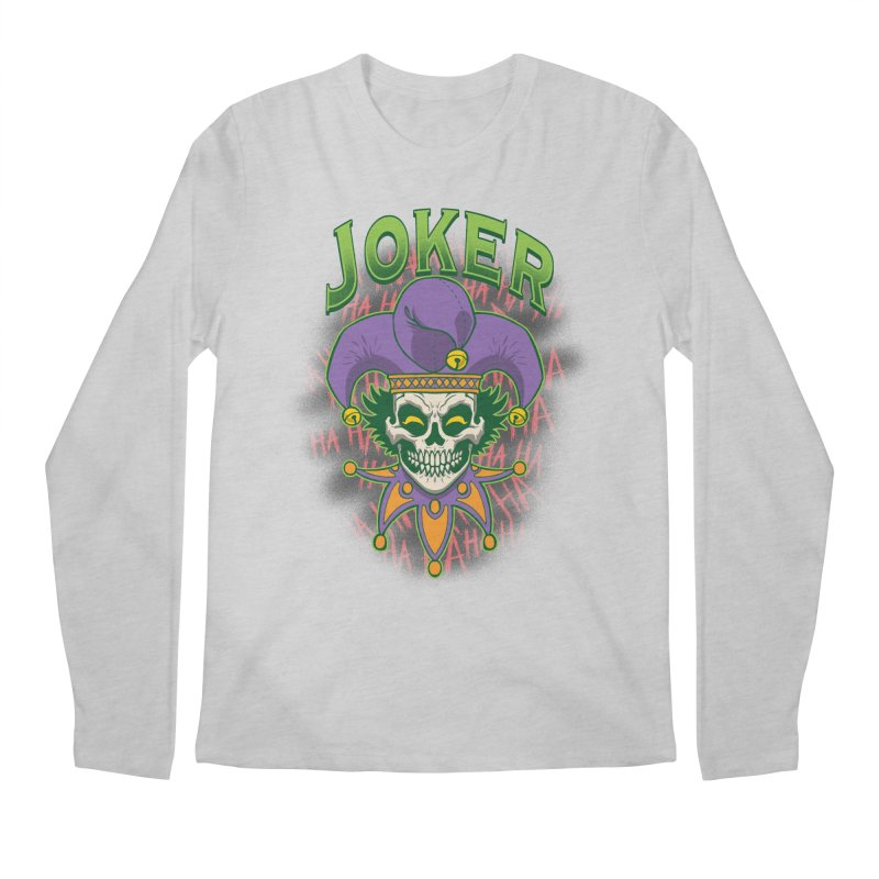 JOKER Men's Regular Longsleeve T-Shirt by Inkdwell's Artist Shop