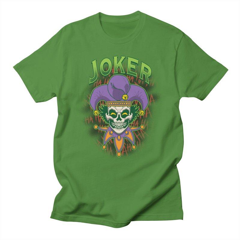 JOKER Men's Regular T-Shirt by Inkdwell's Artist Shop