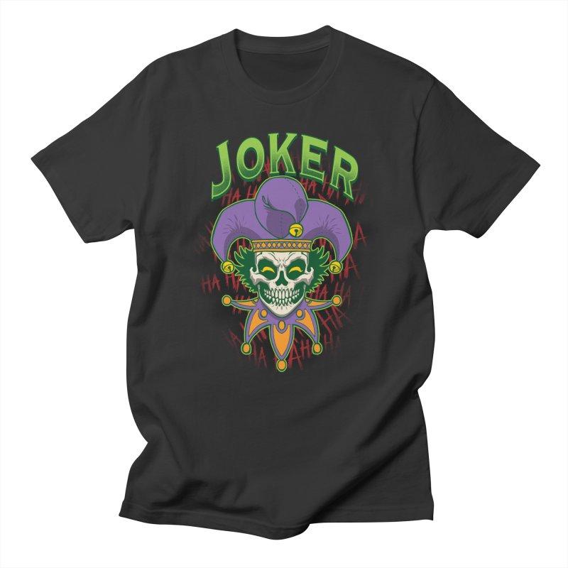 JOKER Women's Regular Unisex T-Shirt by Inkdwell's Artist Shop
