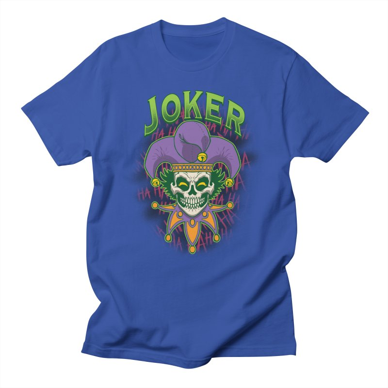 JOKER Women's Regular Unisex T-Shirt by Inkdwell's Artist Shop