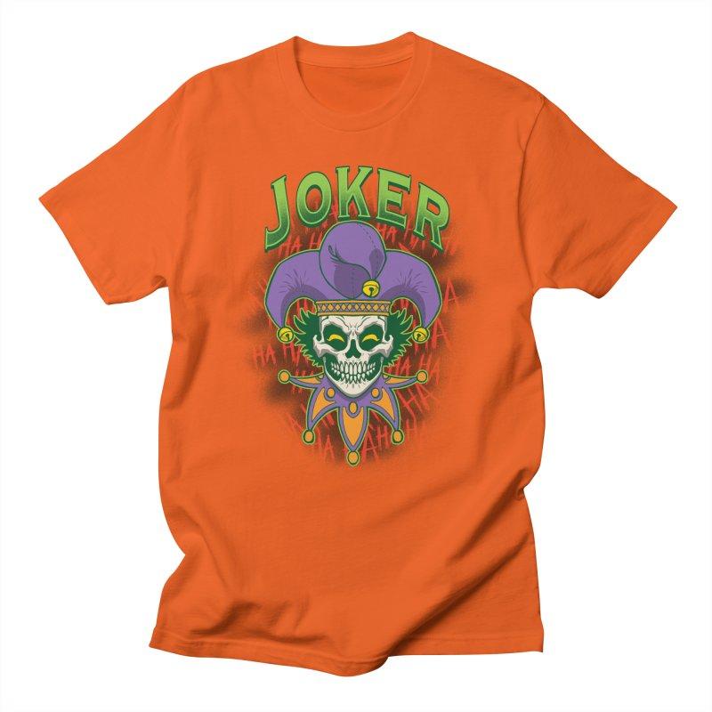 JOKER Women's Unisex T-Shirt by Inkdwell's Artist Shop