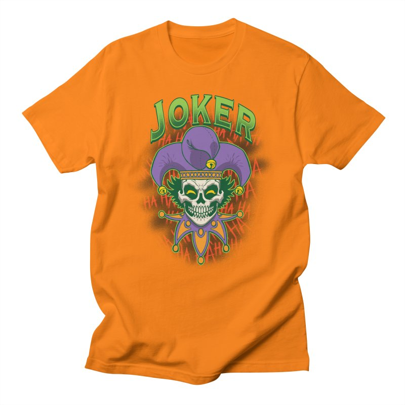 JOKER Men's Regular T-Shirt by Inkdwell's Artist Shop