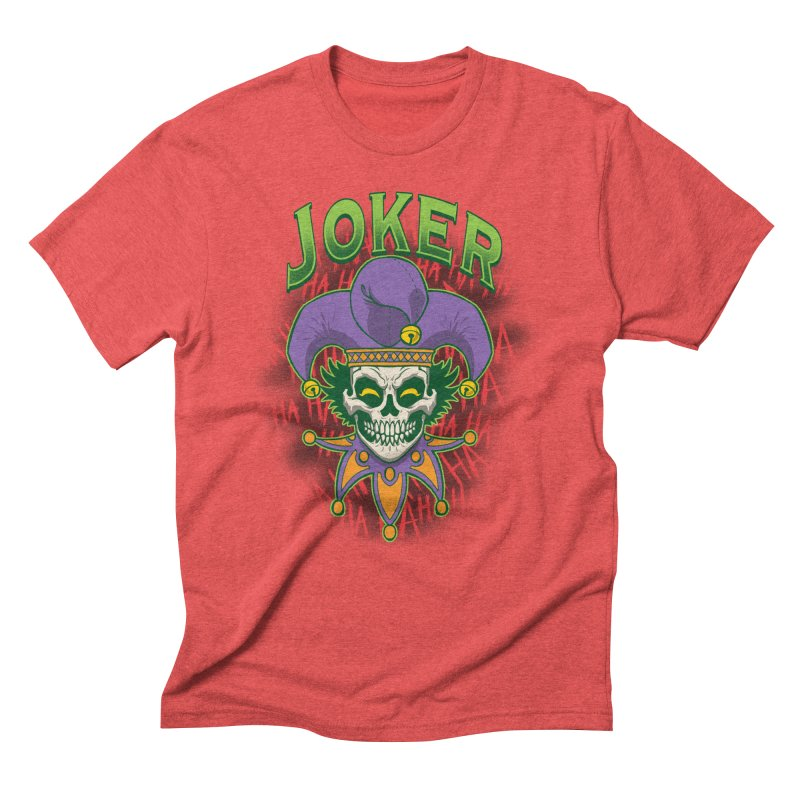JOKER Men's Triblend T-Shirt by Inkdwell's Artist Shop