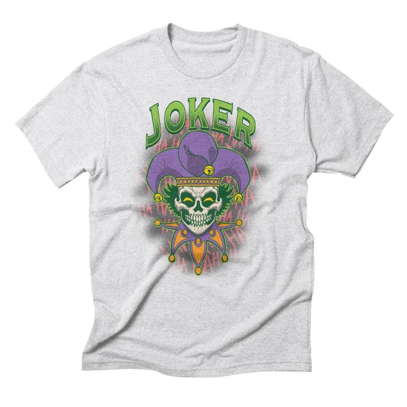 JOKER Men's Triblend T-Shirt by Inkdwell's Artist Shop