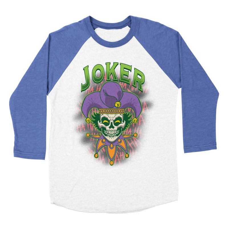 JOKER Women's Baseball Triblend Longsleeve T-Shirt by Inkdwell's Artist Shop