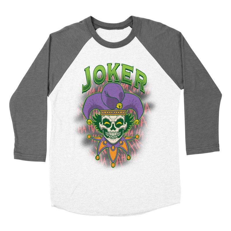 JOKER Men's Baseball Triblend Longsleeve T-Shirt by Inkdwell's Artist Shop