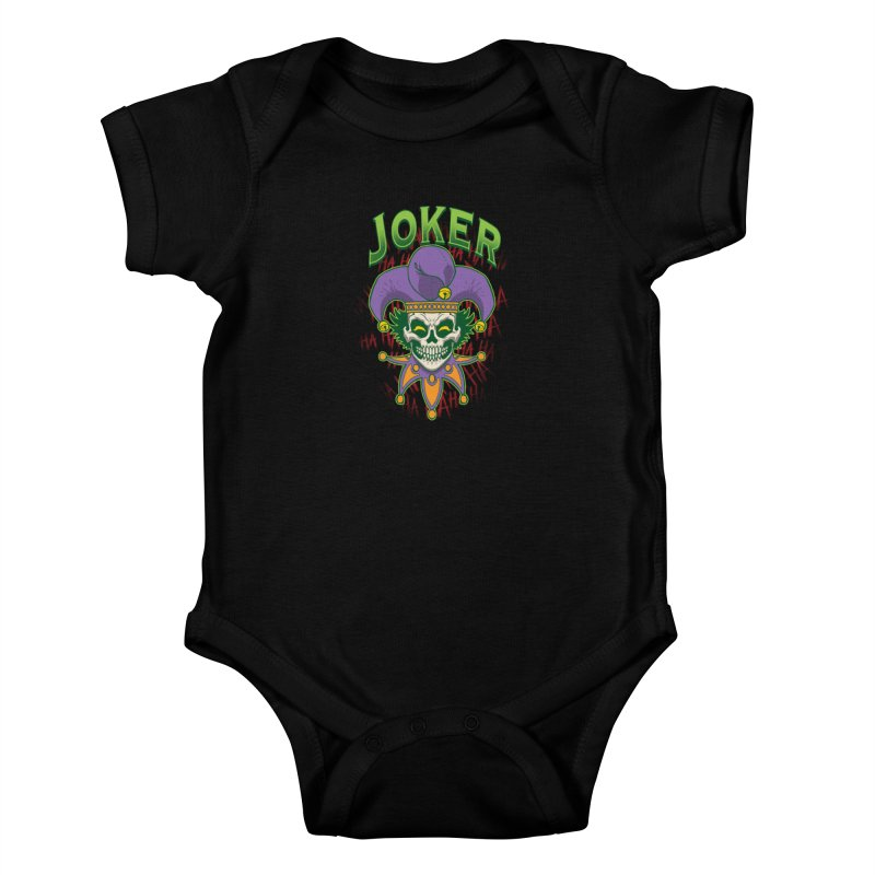 JOKER Kids Baby Bodysuit by Inkdwell's Artist Shop