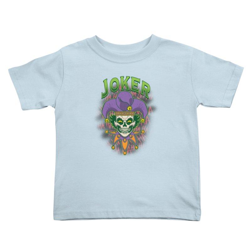 JOKER Kids Toddler T-Shirt by Inkdwell's Artist Shop