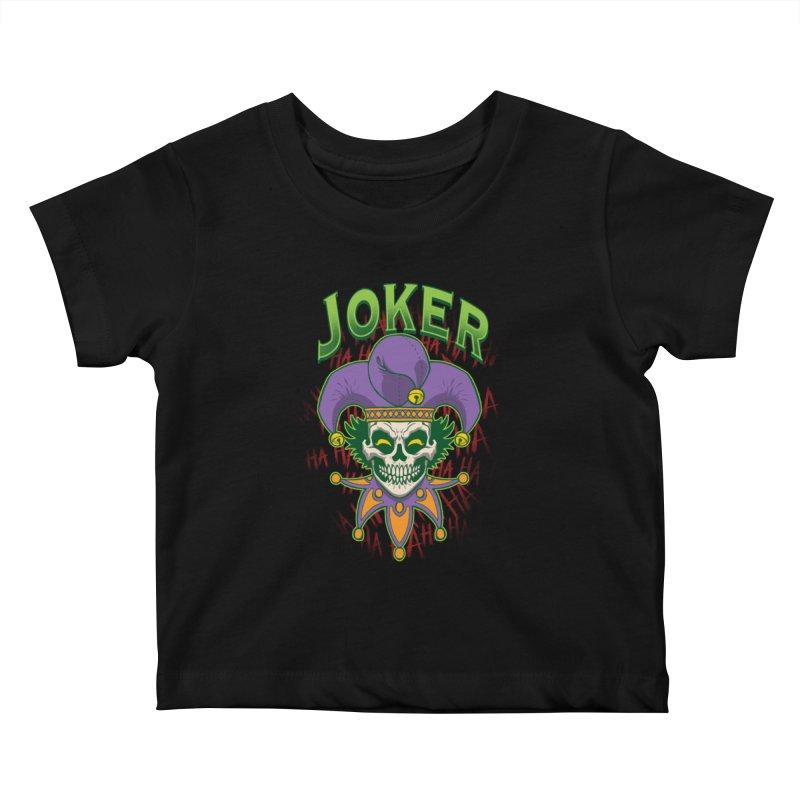 JOKER Kids Baby T-Shirt by Inkdwell's Artist Shop