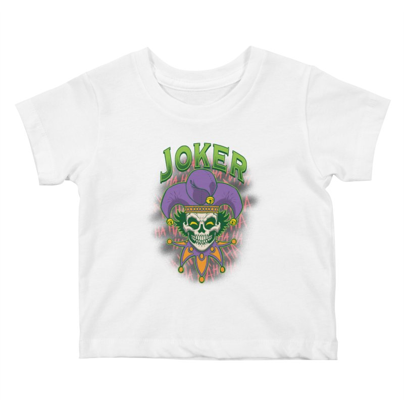 JOKER Kids Baby T-Shirt by Inkdwell's Artist Shop