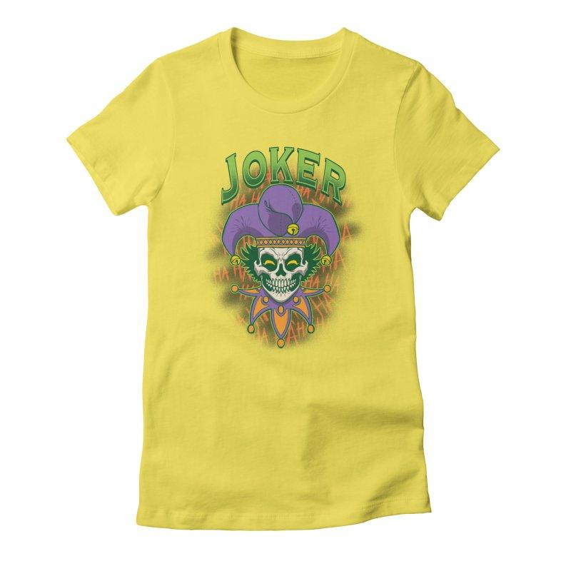 JOKER Women's T-Shirt by Inkdwell's Artist Shop
