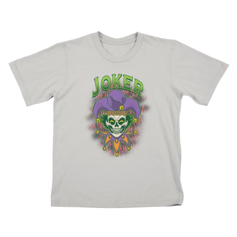 JOKER Kids T-Shirt by Inkdwell's Artist Shop