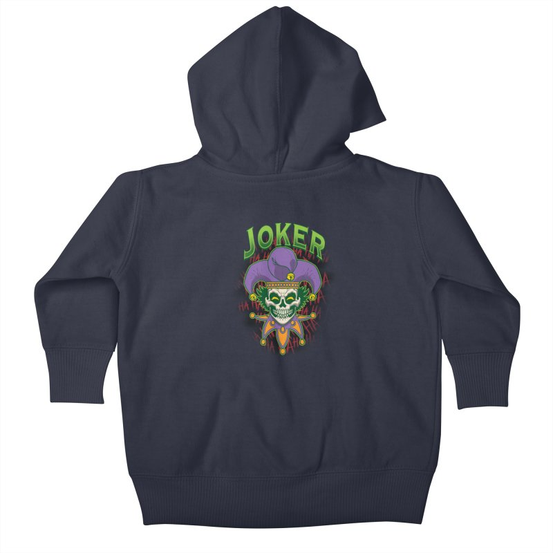 JOKER Kids Baby Zip-Up Hoody by Inkdwell's Artist Shop