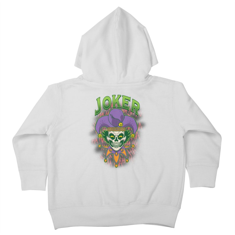 JOKER Kids Toddler Zip-Up Hoody by Inkdwell's Artist Shop