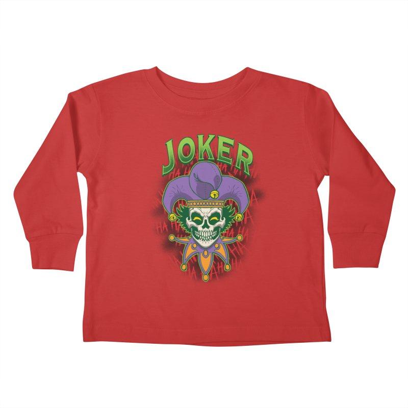 JOKER Kids Toddler Longsleeve T-Shirt by Inkdwell's Artist Shop