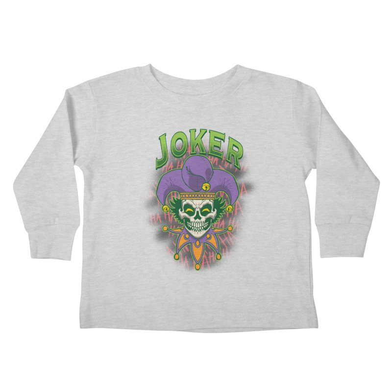 JOKER Kids Toddler Longsleeve T-Shirt by Inkdwell's Artist Shop