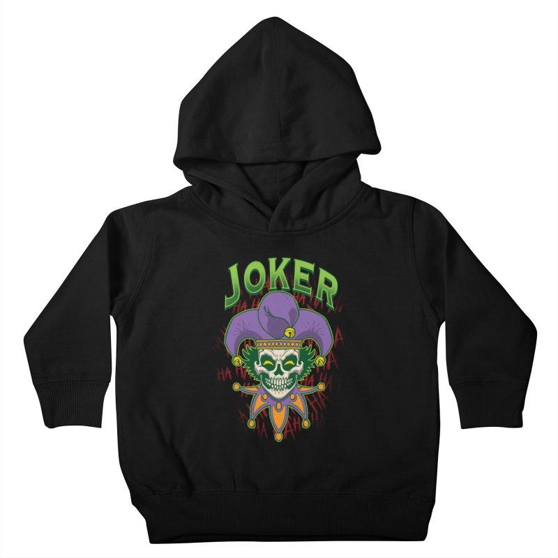 JOKER Kids Toddler Pullover Hoody by Inkdwell's Artist Shop
