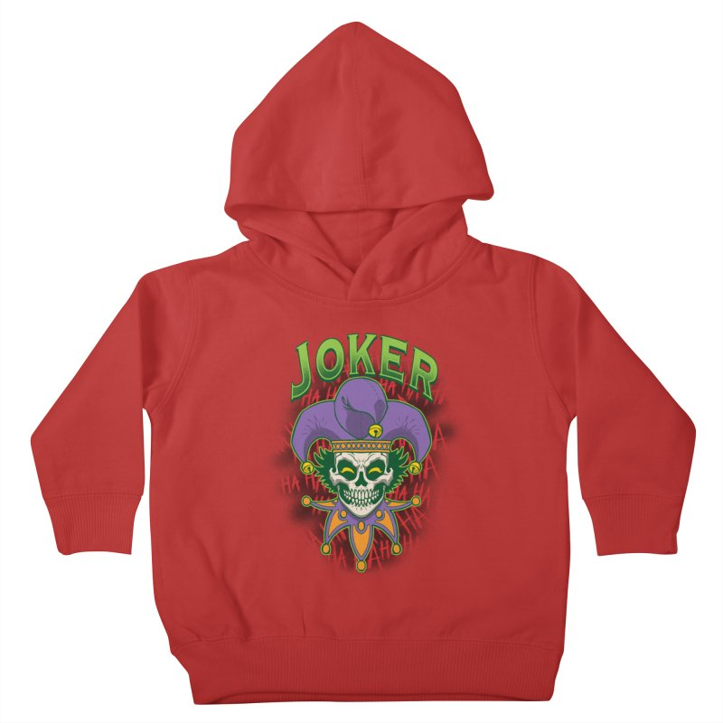 JOKER Kids Toddler Pullover Hoody by Inkdwell's Artist Shop