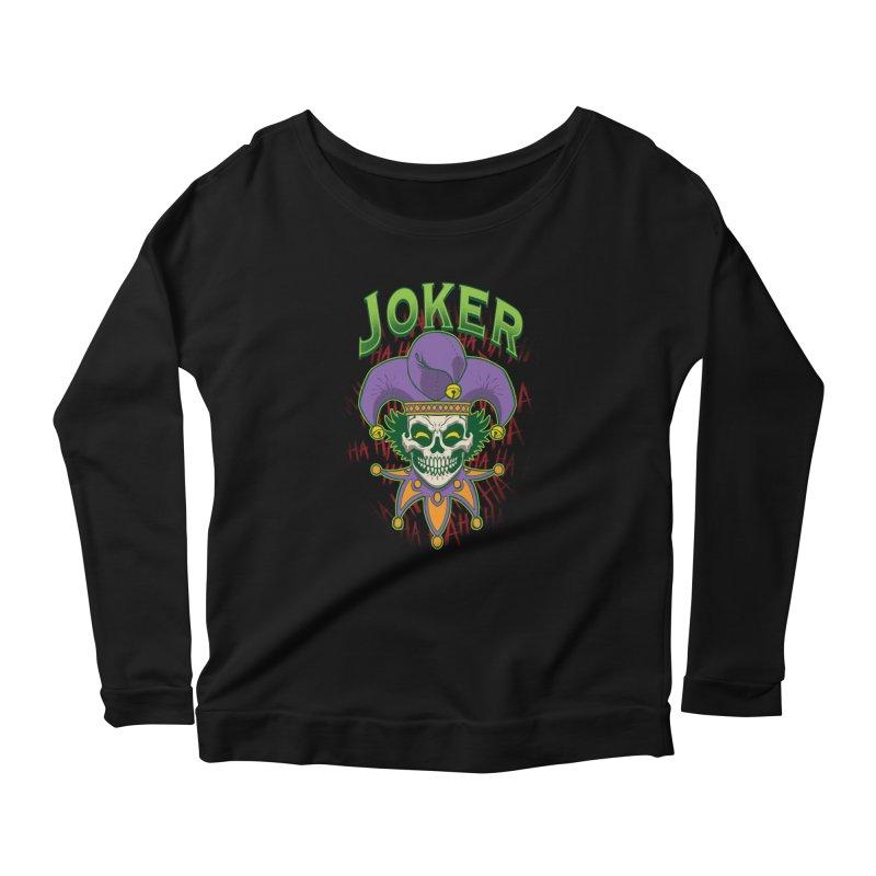 JOKER Women's Longsleeve T-Shirt by Inkdwell's Artist Shop