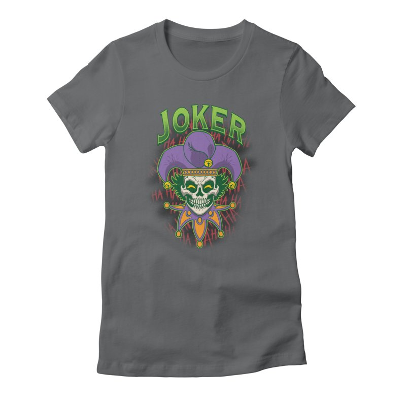 JOKER Women's T-Shirt by Inkdwell's Artist Shop