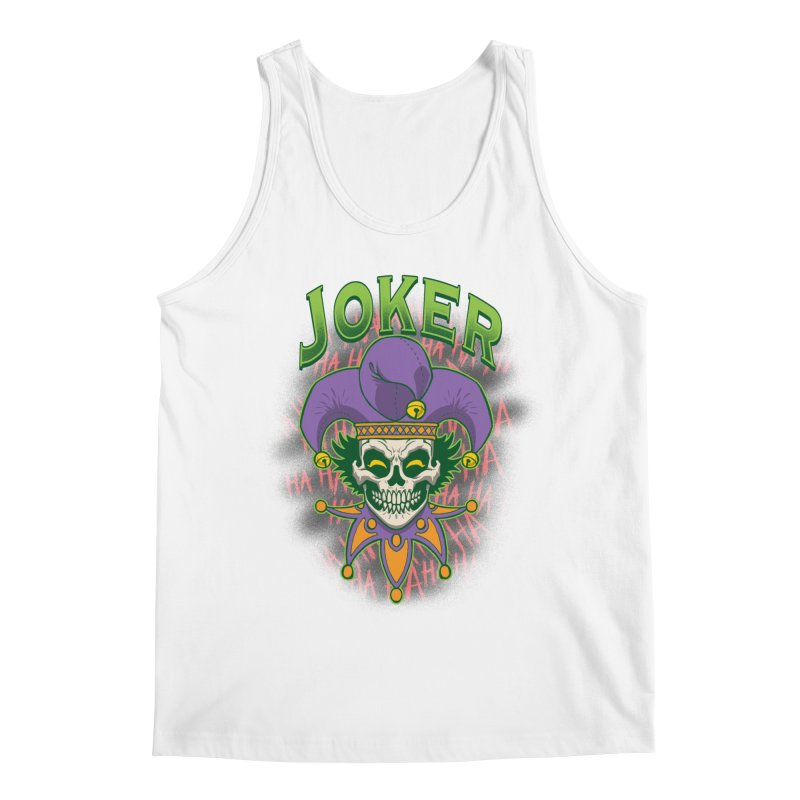 JOKER Men's Regular Tank by Inkdwell's Artist Shop