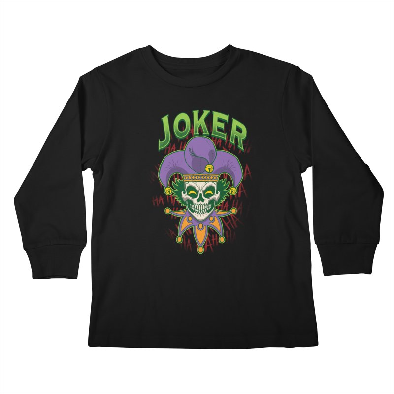 JOKER Kids Longsleeve T-Shirt by Inkdwell's Artist Shop