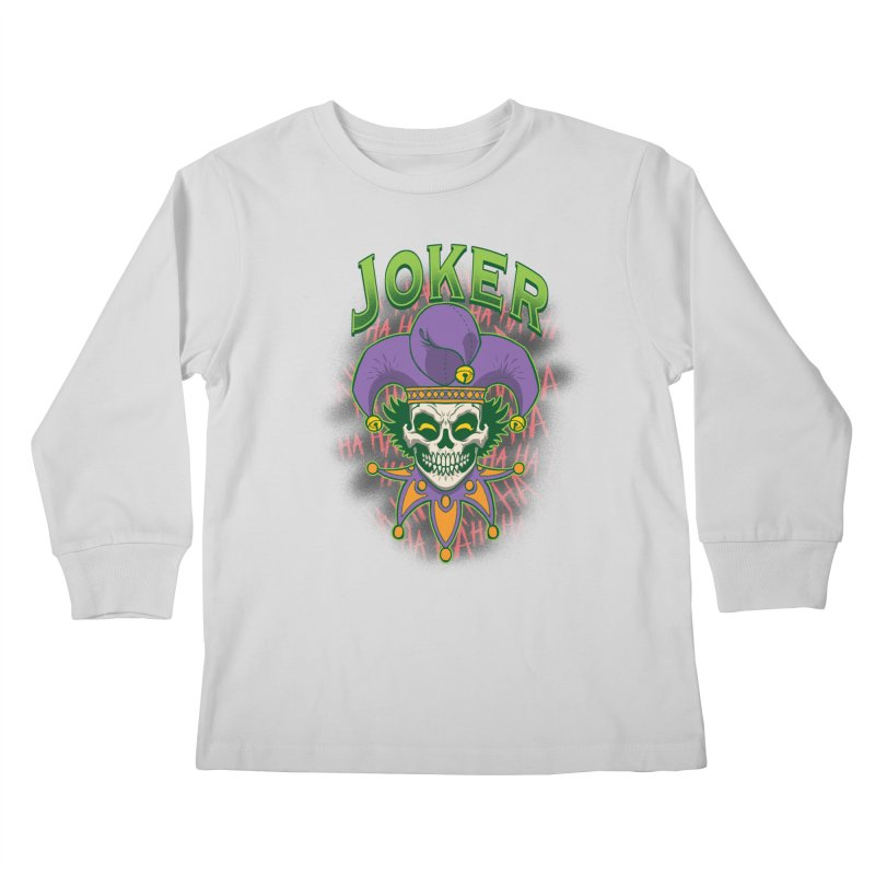 JOKER Kids Longsleeve T-Shirt by Inkdwell's Artist Shop