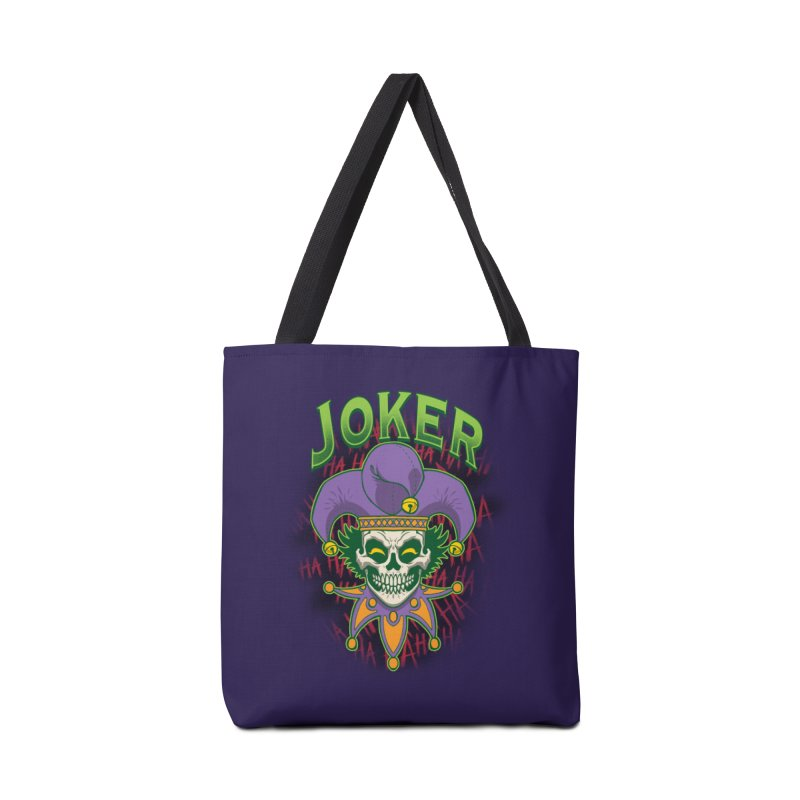 JOKER Accessories Tote Bag Bag by Inkdwell's Artist Shop