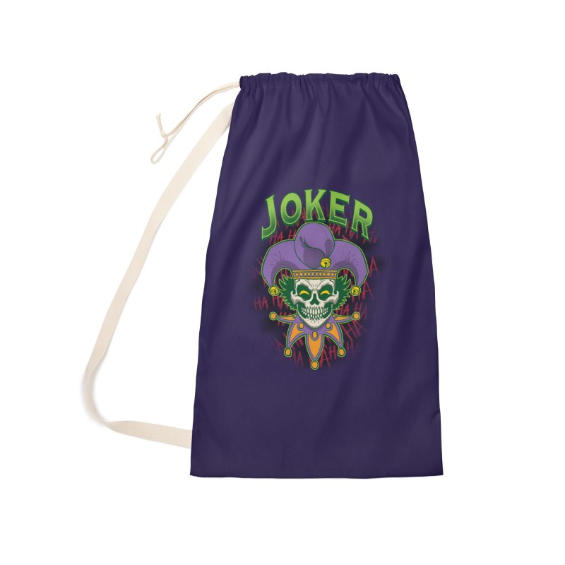 JOKER Accessories Laundry Bag Bag by Inkdwell's Artist Shop
