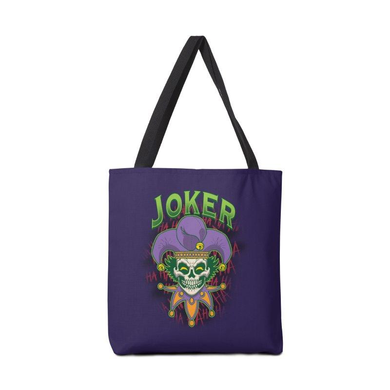 JOKER Accessories Bag by Inkdwell's Artist Shop