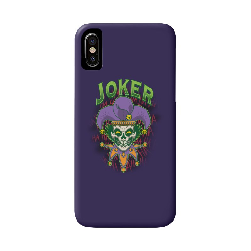 JOKER Accessories Phone Case by Inkdwell's Artist Shop