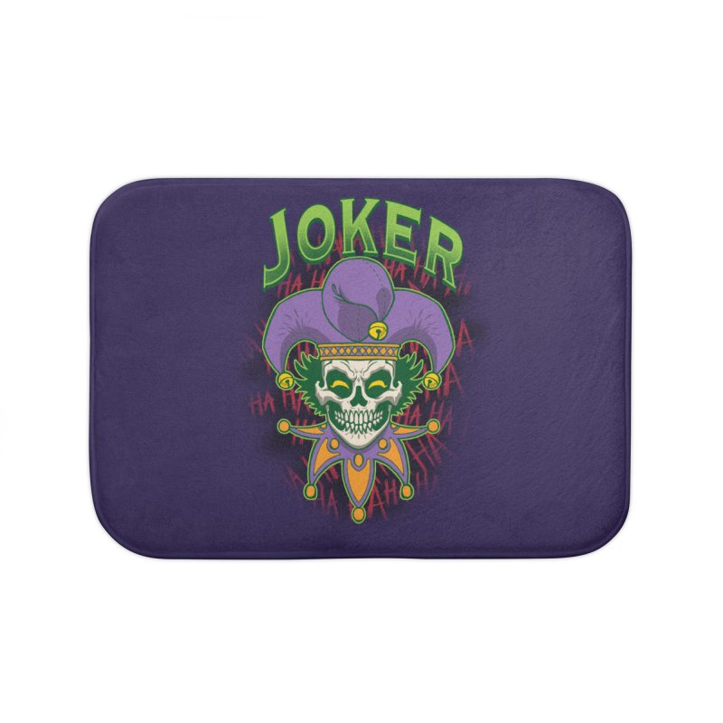 JOKER Home Bath Mat by Inkdwell's Artist Shop