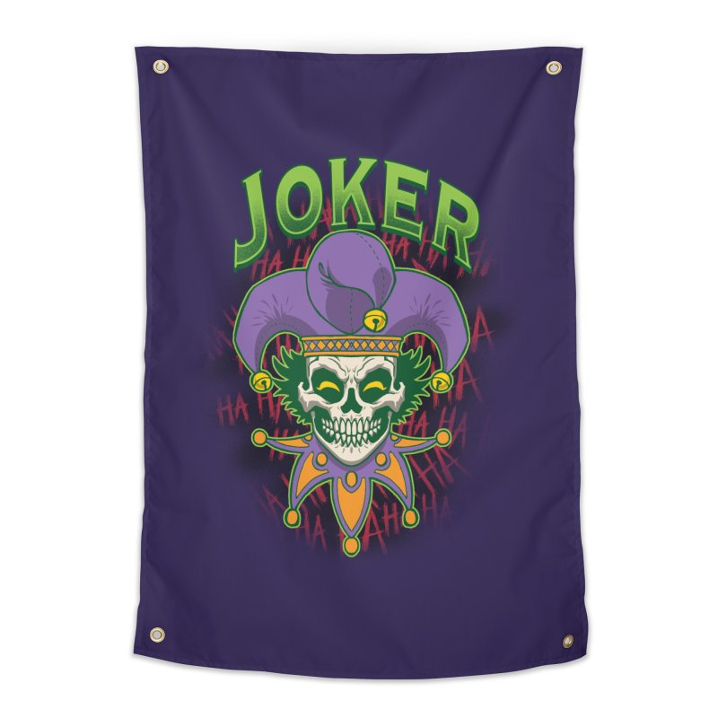JOKER Home Tapestry by Inkdwell's Artist Shop