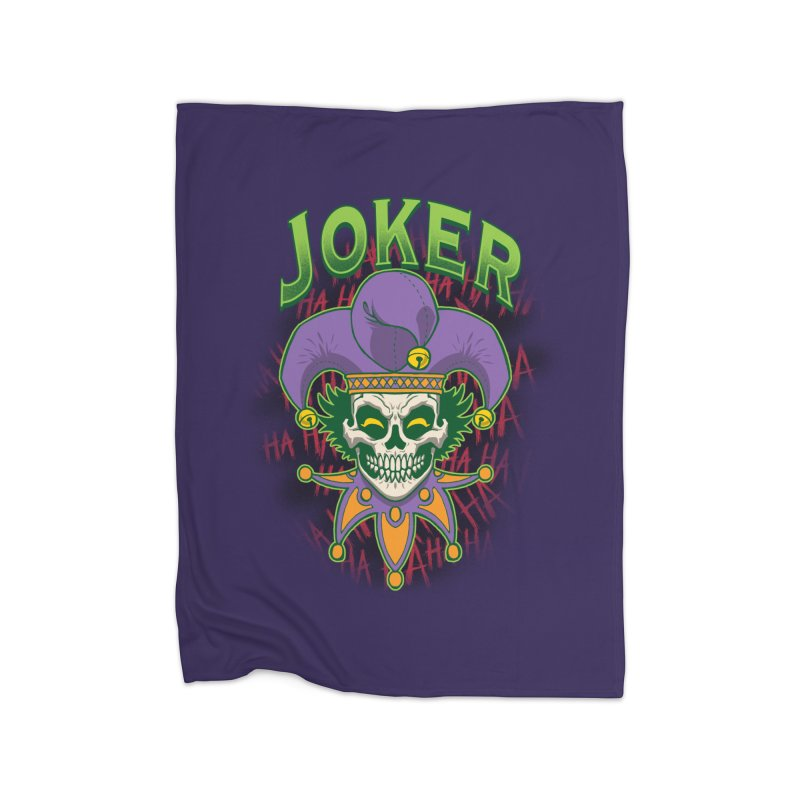 JOKER Home Fleece Blanket Blanket by Inkdwell's Artist Shop