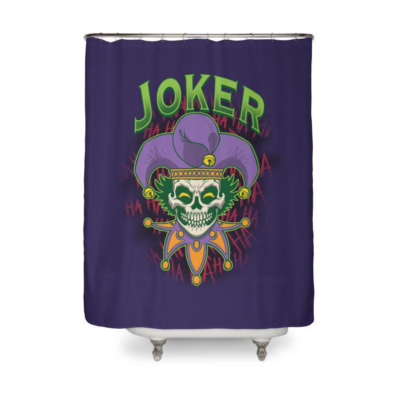 JOKER Home Shower Curtain by Inkdwell's Artist Shop