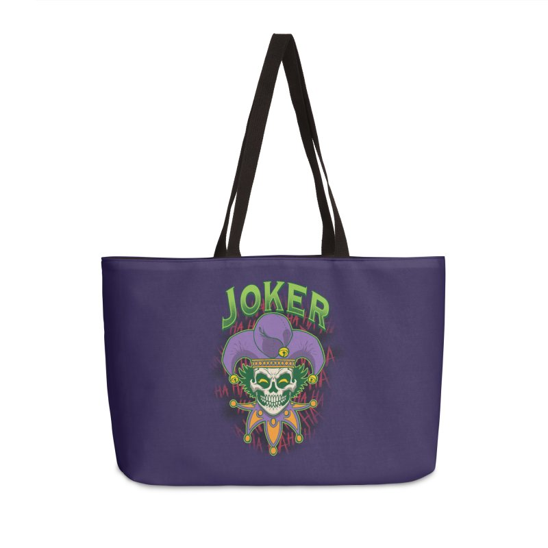 JOKER Accessories Weekender Bag Bag by Inkdwell's Artist Shop