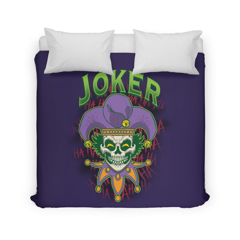 JOKER Home Duvet by Inkdwell's Artist Shop