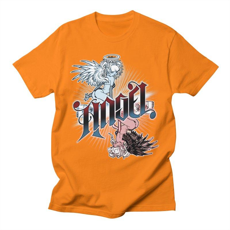 ANGEL DEVIL Men's T-Shirt by Inkdwell's Artist Shop