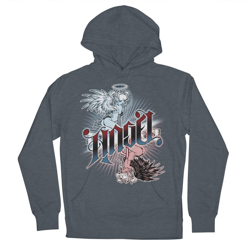 ANGEL DEVIL Women's Pullover Hoody by Inkdwell's Artist Shop