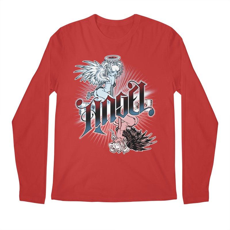 ANGEL DEVIL Men's Regular Longsleeve T-Shirt by Inkdwell's Artist Shop