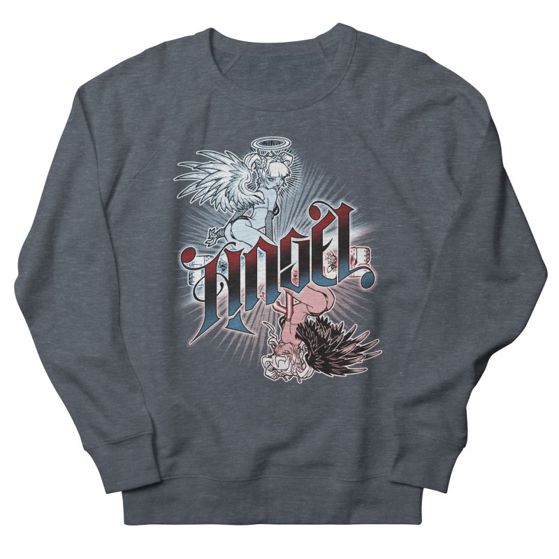 ANGEL DEVIL Men's Sweatshirt by Inkdwell's Artist Shop